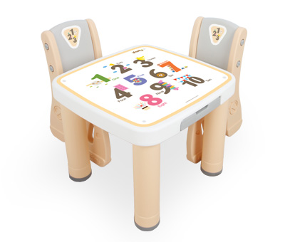 마시멜로 책상의자-숫자